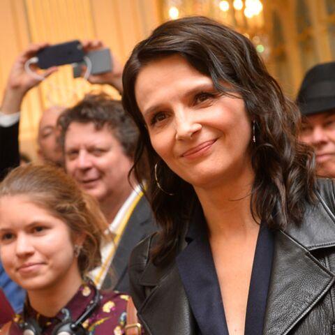 PHOTOS – Juliette Binoche tout sourire au côté de Hannah, la fille qu'elle a eue avec Benoit Magimel