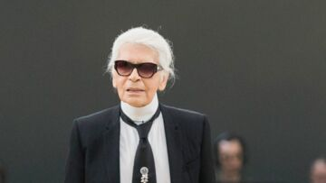 PHOTO – La barbe, le nouveau look de Karl Lagerfeld qui enflamme la Fashion Week