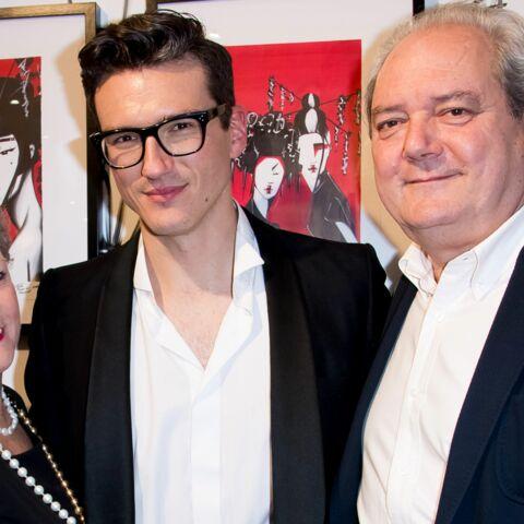 PHOTOS – Pepe Munoz, si fier de ses œuvres au côté de ses parents