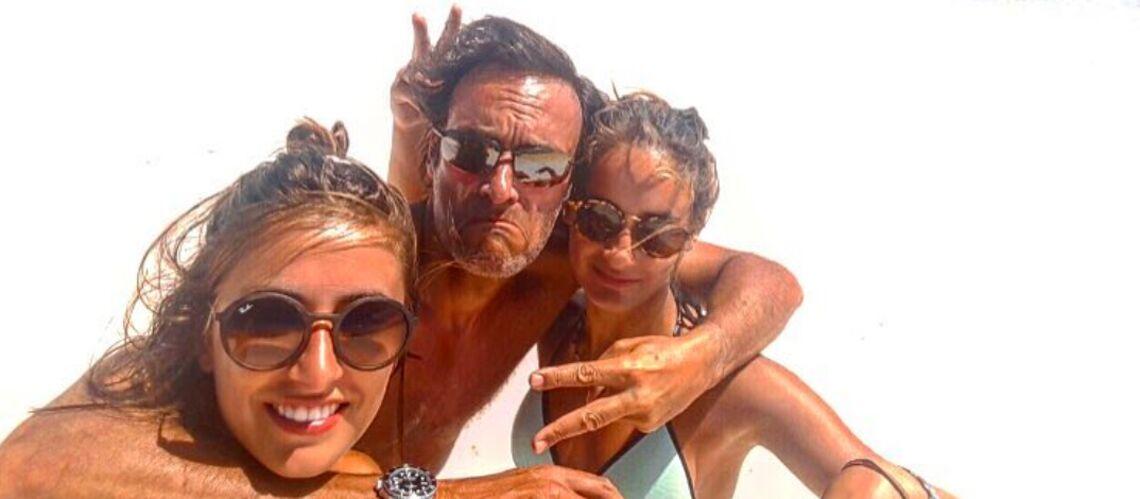 Anthony Delon, ses filles reines de son Instagram
