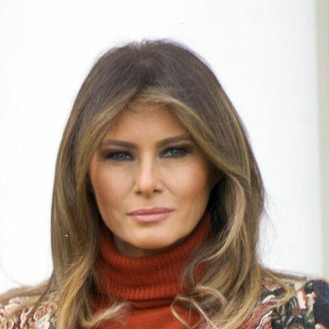 Triste anniversaire de mariage pour Melania Trump, invisible depuis des semaines