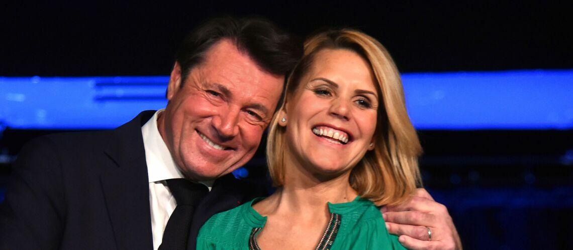 PHOTOS — Laura Tenoudji, plus amoureuse que jamais de son mari Christian Estrosi, le couple ultra complice en compagnie de Denise Fabre