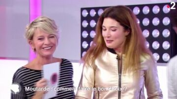 VIDEO – Sophie Davant pas insensible au charme d'un invité, l'animatrice perd ses moyens