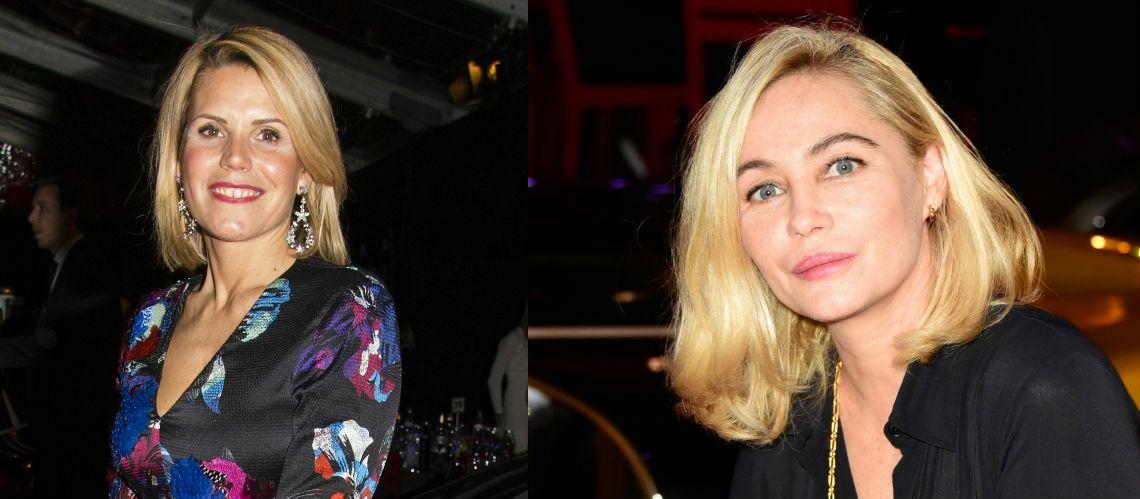 Coupe de cheveux – Laura Tenoudji et Emmanuelle Béart, ultra fans du carré blond