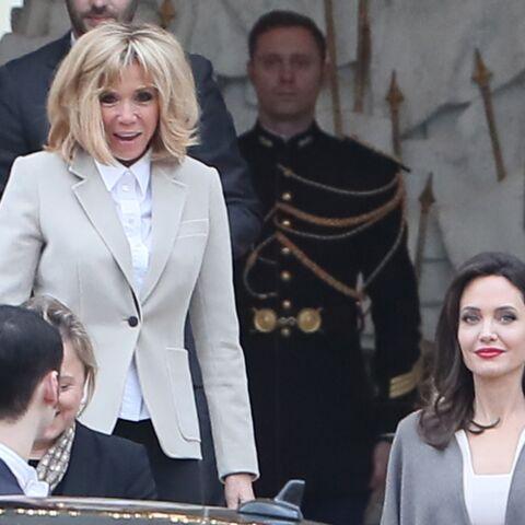 Pourquoi Angelina Jolie a-t-elle rencontré Brigitte Macron?
