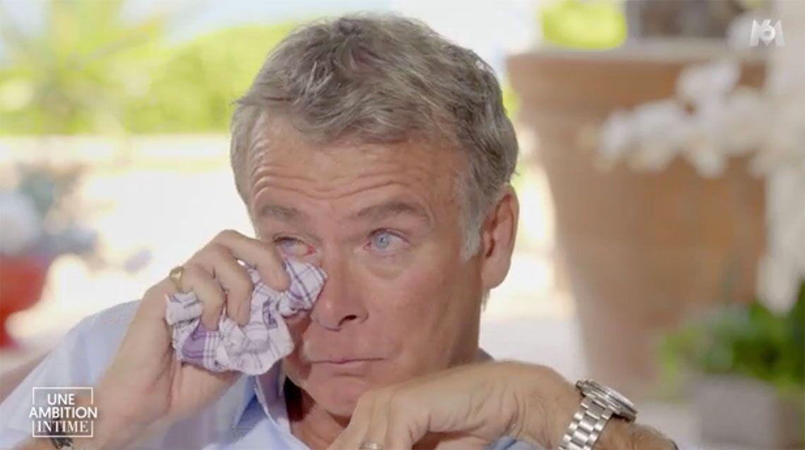 VIDEO – Franck Dubosc fond en larmes en évoquant la mort de son père
