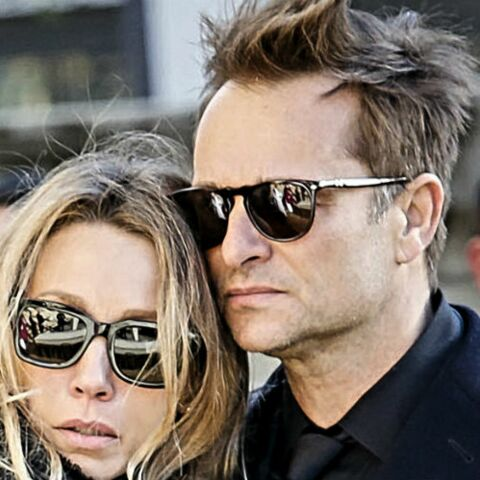 PHOTO – Laura Smet et David Hallyday, soudés dans la lutte pour la succession face au testament de Johnny