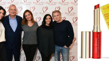 PHOTOS – Sandrine Quétier, Camille Lacourt, Franck Dubosc réunis pour le Prix Clarins