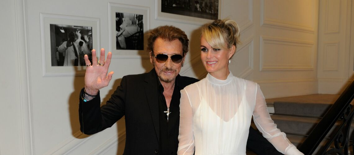 Laeti­cia Hally­day, béné­fi­ciaire d'un trust opaque qui cache les droits artis­tiques de Johnny Hally­day à David et Laura Smet