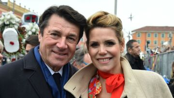 PHOTOS – Christian Estrosi et Laura Tenoudji de sortie avec leur fille Bianca pour le carnaval de Nice