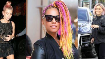 PHOTOS – Alicia Keys, Hailey Baldwin, Paris Hilton…découvrez 20 stars qui ont osé les cheveux roses!