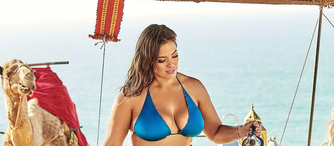 PHOTOS – Ashley Graham pose en bikini et assume sa cellulite