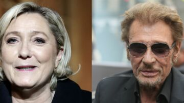 Quand Marine Le Pen se mêle des affaires de famille de Johnny Hallyday pour défendre David et Laura Smet