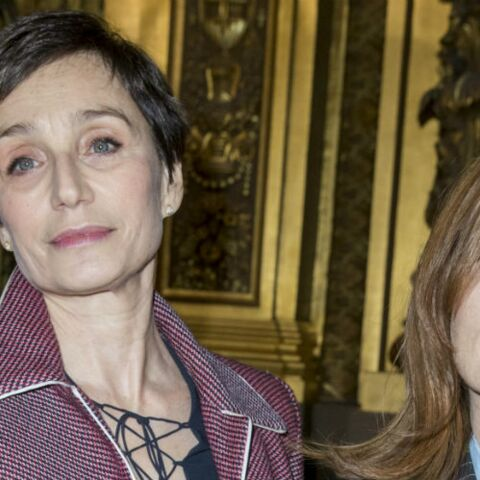 PHOTOS – Isabelle Huppert et Kristin Scott-Thomas, stars du défilé Stella McCartney