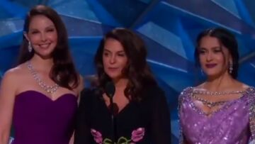 Oscars 2018 – Trois accusatrices s'en prennent à Harvey Weinstein dans un discours poignant et engagé