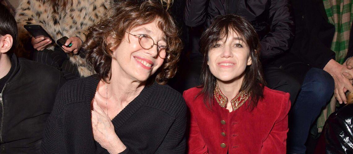 Jane Birkin très fière de sa fille Charlotte Gainsbourg
