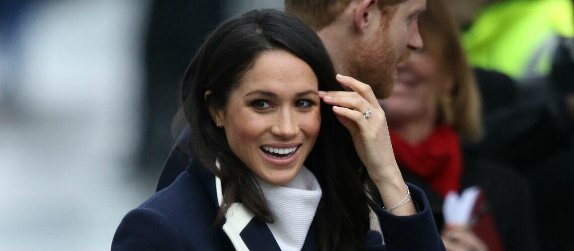 PHOTOS -Meghan Markle, canon en manteau J.Crew et pull AllSaints, elle continue d'écouter les leçons de Kate Middleton