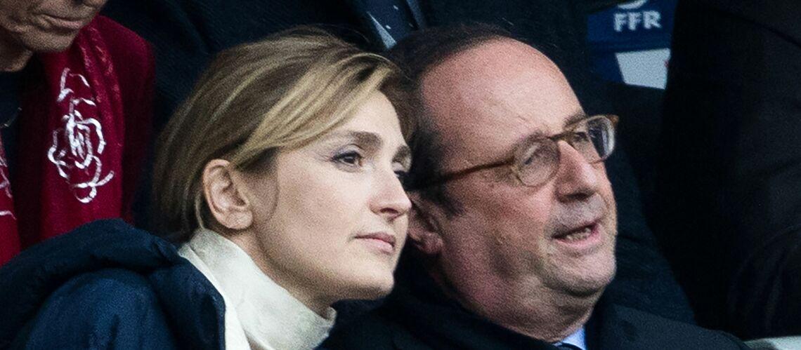 PHOTOS – François Hollande et Julie Gayet, très complices au Stade de France