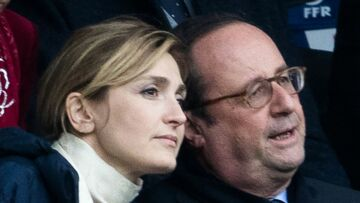 PHOTOS – François Hollande et Julie Gayet, très complices au Stade de France