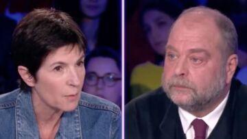 Après son violent clash avec Eric Dupond-Moretti, Christine Angot aurait quitté le plateau d'On n'est pas couché pendant le tournage