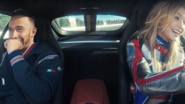 VIDEO – Lewis Hamilton et Gigi Hadid se défient au volant pour Tommy Hilfiger!