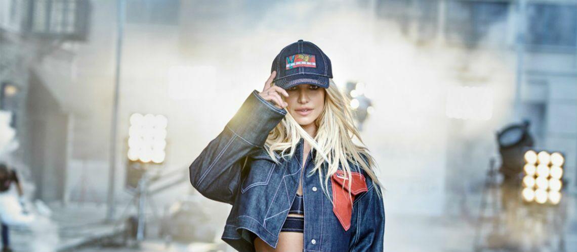 PHOTOS – Britney Spears revient en collégienne star de la nouvelle campagne Kenzo