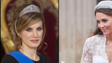 Coiffures royales: qui est la mieux coiffée, Kate Middleton ou Letizia d'Espagne?