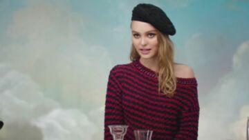 Lily-Rose Depp comme vous ne l'avez jamais vue, joue les espionnes pour Chanel