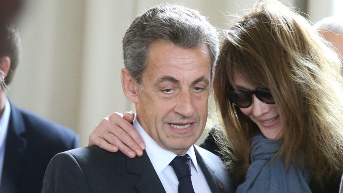 PHOTO – Carla Bruni son tendre message pour Nicolas Sarkozy