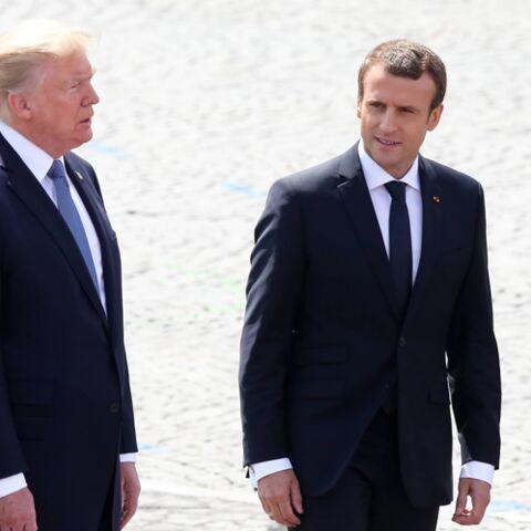 L'accueil prestigieux que réserve Donald Trump à Emmanuel et Brigitte Macron