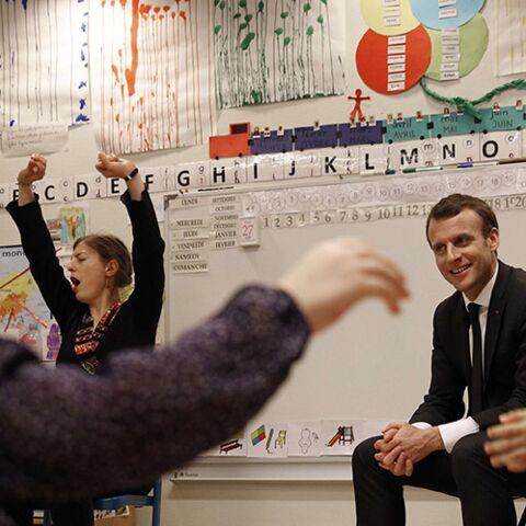 Emmanuel Macron: les enfants ne lui font pas de cadeau