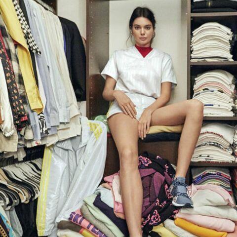 PHOTOS – Découvrez l'incroyable dressing de Kendall Jenner!