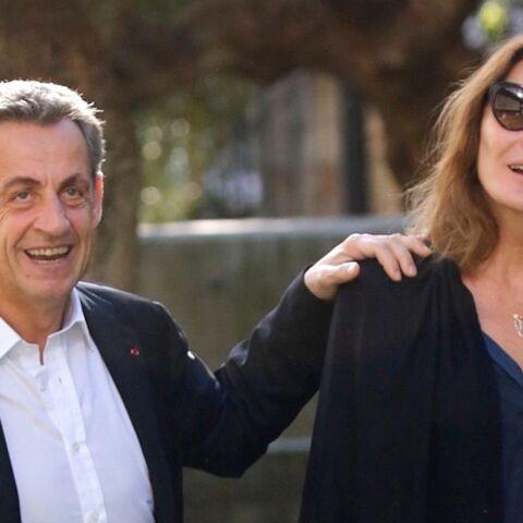 Nicolas Sarkozy mis en examen: la présence réconfortante de sa femme Carla Bruni