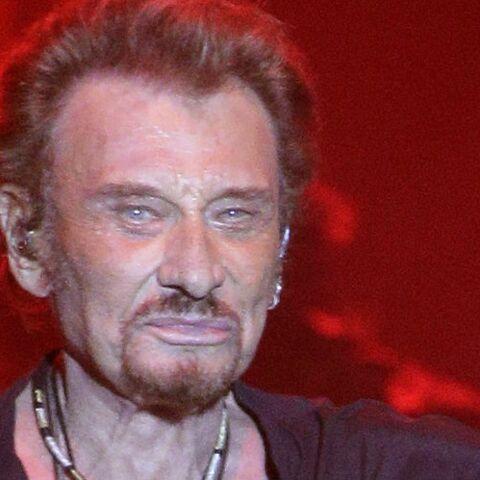 Johnny Hallyday «heureux» de son dernier album: son sms à sa maison de disques