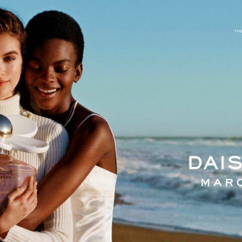 Nouveau succès pour Kaia Gerber, star du parfum Daisy Love Marc Jacobs