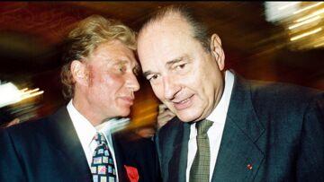Johnny Hallyday: le jour où il a piqué un coup de sang devant le couple Chirac