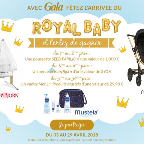 Jeu concours Royal Baby