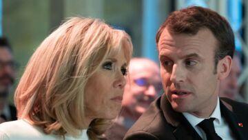PHOTOS – Brigitte Macron chic et rock au côté de son mari face à la Conférence des évêques de France