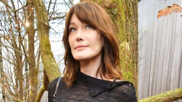 PHOTO – Carla Bruni nostal­gique de ses cheveux courts : la photo vintage qui surprend ses fans