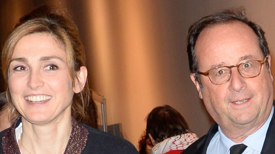 VIDEO – François Hollande, gêné face aux images de Julie Gayet