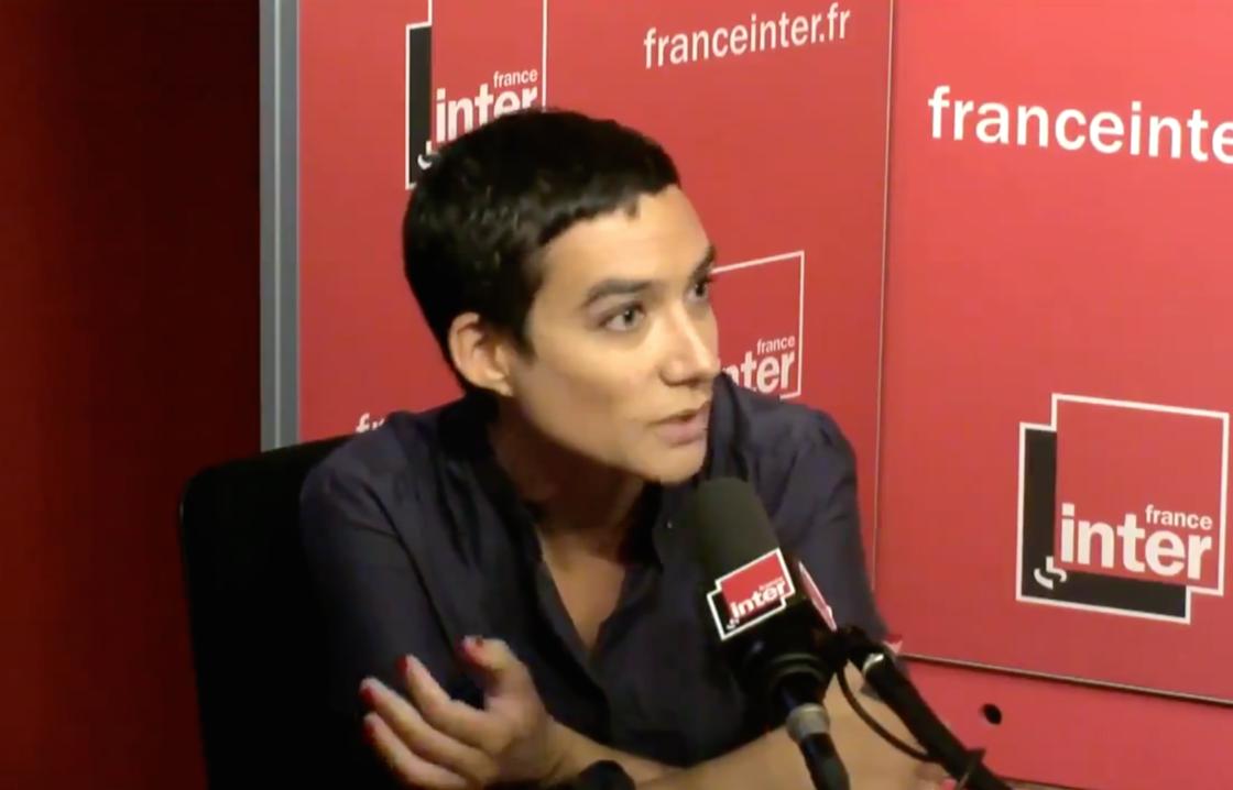 Eve Plenel, invitée au micro de France Inter