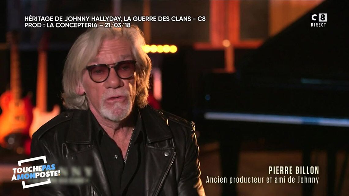 VIDÉO – Pierre Billon, ami de Johnny Hallyday, «n'a jamais vu Laura»: il revient sur ses paroles polémiques