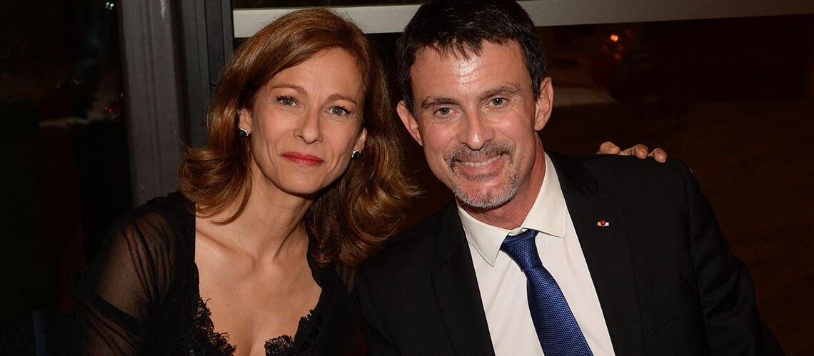 PHOTOS – Anne Gravoin et Manuel Valls: comment ils ont fait face ensemble à la rumeur