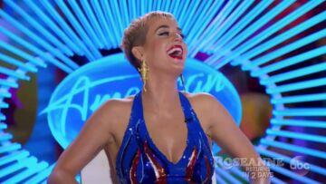 VIDEO – Katy Perry se retrouve les fesses à l'air en pleine émission télé