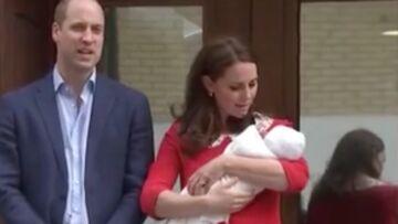 PHOTOS – Royal Baby 3: découvrez le visage du bébé de Kate Middleton et William