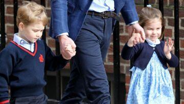 """Royal Baby 3, George et Charlotte """"très excités"""" de rencontrer leur petit frère: comment s'est passé leur visite à la maternité"""