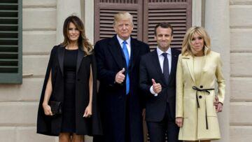 VIDEO – Découvrez le menu concocté par Melania Trump et sa surprise pour Brigitte Macron