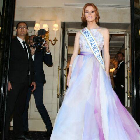 PHOTOS – Maëva Coucke, Miss France 2018 fait sensation en robe de bal lors de la soirée des Global Gift