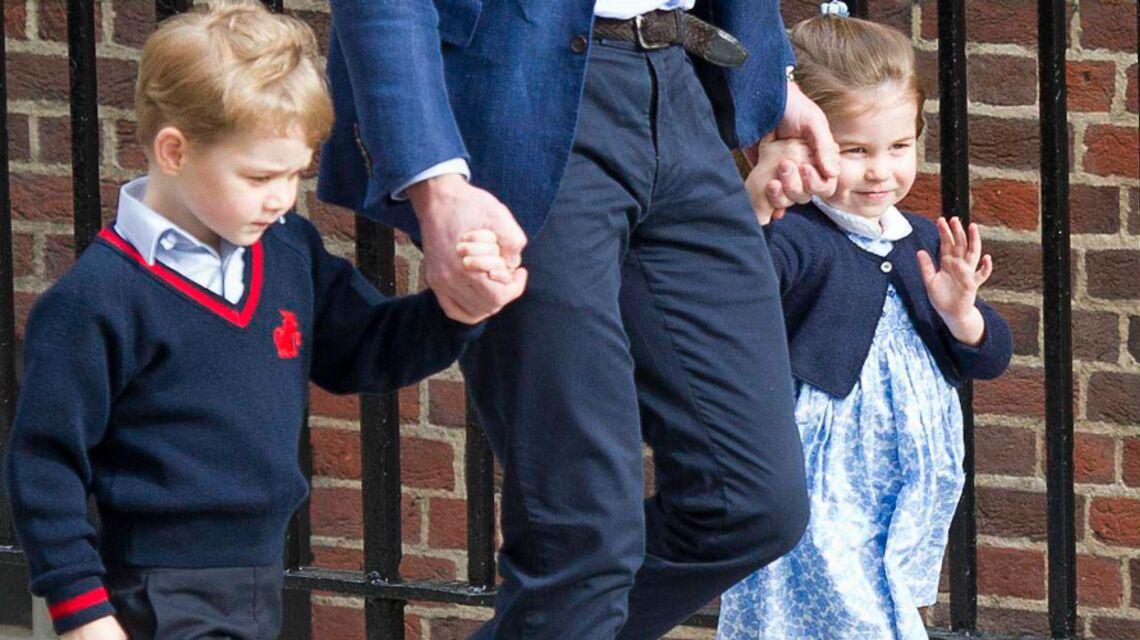 Le prince George, un grand frère protecteur: son geste débordant d'amour pour sa petite soeur Charlotte