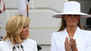 """""""On rit beaucoup"""": Brigitte Macron se confie sur son étonnante amitié avec Melania Trump"""
